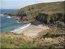 SW4237 : Porthmeor Cove by Philip Halling