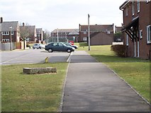 SS9868 : Kingfisher Square, West Camp, Saint Athan, Vale of Glamorgan by Kate Bee