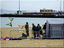 SY6878 : The beach at Weymouth by Brian Robert Marshall