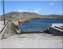L6058 : Cleggan: the lifeboat slipway by Keith Salvesen
