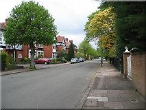 SP3277 : Warwick Avenue, Earlsdon by E Gammie