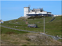 """SH7683 : The """"Summit Complex"""" at the Great Orme by Eirian Evans"""