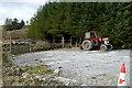 R1974 : Tractor at Reanagishagh by Graham Horn