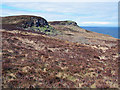 NG2564 : Craggy outcrops on the Waternish peninsula by Richard Dorrell