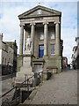 SW4730 : Statue of Humphry Davy and Market House by Philip Halling