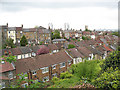 TQ4578 : Roofs of Roydene Road by Stephen Craven