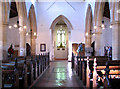 TF6211 : The church of SS Peter and Paul in Watlington - view west by Evelyn Simak