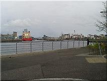 NT2677 : Leith Docks by Stephen Sweeney