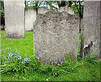 TQ3282 : Gravestones, Bunhill Fields, London EC1 by Christine Matthews