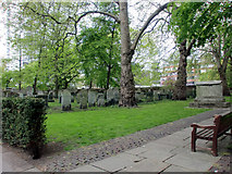 TQ3282 : Bunhill Fields Burial Ground, City Road, London EC1 by Christine Matthews