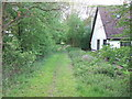 TF6821 : The old railway line by Richard Humphrey