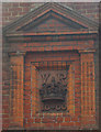 TQ2887 : Decorative detail, former Highgate sorting office by Jim Osley