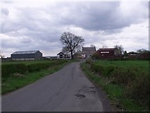 NS6965 : Heatheryknowe Farm by Robert Murray