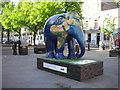 TQ2778 : Indian Elephant at London's Elephant Parade by PAUL FARMER