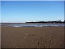 NT6378 : East Lothian Landscape : UFO on Hedderwick Sands (2) by Richard West
