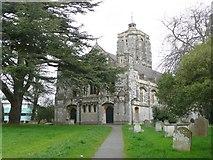 SX9193 : St David's Church, Exeter by Humphrey Bolton