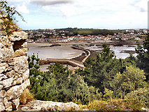 SW5130 : The Harbour and Causeway, St Michael's Mount by David Dixon