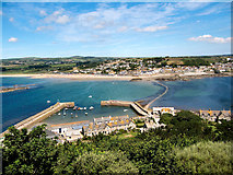 SW5130 : View from St Michael's Mount by David Dixon