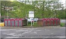 SD9926 : Cycle Lockers - Hebden Bridge Railway Station by Betty Longbottom