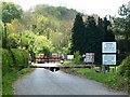 SJ2523 : Entrance to quarry, off A495 by Christine Johnstone