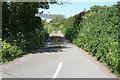 SX5547 : Noss Mayo: lane to Rowden Court by Martin Bodman