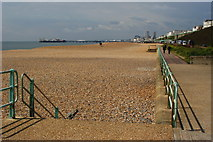 TQ3303 : Brighton Beach, Sussex by Peter Trimming