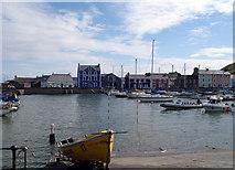 SN4562 : Aberaeron Harbour by John Duckfield