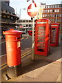 SK3587 : Sheffield: postbox № S1 9, Pinfold Street by Chris Downer