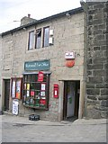 SD9828 : Heptonstall Post Office - Town Gate by Betty Longbottom