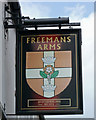 TA2709 : The Sign of the Freemans Arms by David Wright