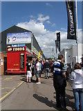 SK5803 : Match day on Aylestone Walk by Michael Trolove