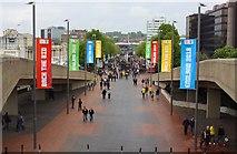 TQ1985 : Olympic Way at Wembley Stadium by Steve Daniels