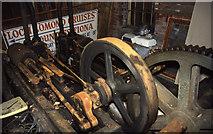 NS3882 : Balloch Slipway, steam engine by Chris Allen