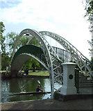 TL0549 : The Suspension Bridge by Thomas Nugent