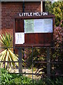 TG1506 : Little Melton Village Notice Board by Adrian Cable