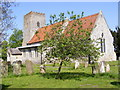 TG1506 : All Saints Church, Little Melton by Adrian Cable