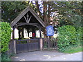 TG1506 : All Saints Church Lych Gate, Little Melton by Adrian Cable