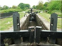 SJ9065 : Lock 10 at Bosley on the Macclesfield Canal by Raymond Knapman