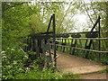 TQ4645 : Bridleway bridge over River Eden by David Anstiss