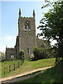 TF8522 : St Peter's church in Weasenham by Evelyn Simak