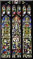 TF8522 : St Peter's church in Weasenham - east window by Evelyn Simak