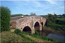 TQ7825 : Bridge over River Rother by Oast House Archive