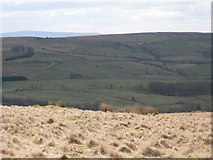 NY5775 : Panorama from the cairn north of Borderrigg (10: S) by Mike Quinn