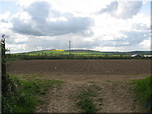 O1564 : View west from Tobertown, Co. Dublin by Kieran Campbell