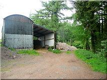 ST4297 : Barn on Golden Hill by Jonathan Billinger