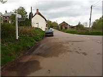 SS6613 : A road junction between Cole's Corner and Bridge Reeve Cross by Roger A Smith