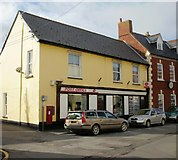 ST0743 : Watchet Post Office by Jaggery