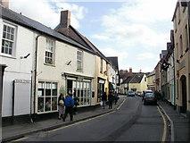 ST0743 : Swain Street, Watchet by Jaggery
