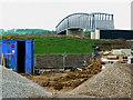 SU1482 : New footbridge, East Wichel, Wichelstowe, Swindon by Brian Robert Marshall
