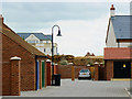 SU1482 : Courtyard, East Wichel, Wichelstowe, Swindon by Brian Robert Marshall